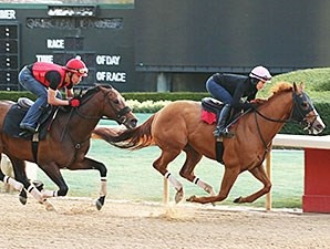 Whitmore works at Oaklawn Park March 6.