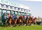 Schedule calls for 59 race dates at Hawthorne Race Course in 2017.