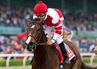 Songbird wins the Santa Anita Oaks (gr. I)