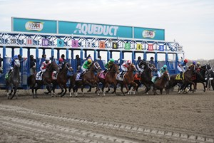 Racing at Aqueduct