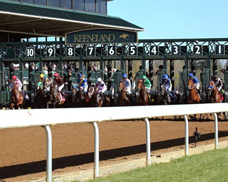COLLECTED The Lexington Gr III - 35th Running Keeneland Race Course     Lexington, Kentucky April 16, 2016    Race #09 Purse $150,000 1-1/16 Miles  1:43.33 Speedway Stables, LLC, Owner Bob Baffert, Trainer Javier Castellano, Jockey One More Round (2nd) Synchrony (3rd) $6.40 $4.00 $3.00 Order of Finish - 10, 1, 5, 2 Please Give Photo Credit To:  / Coady Photography