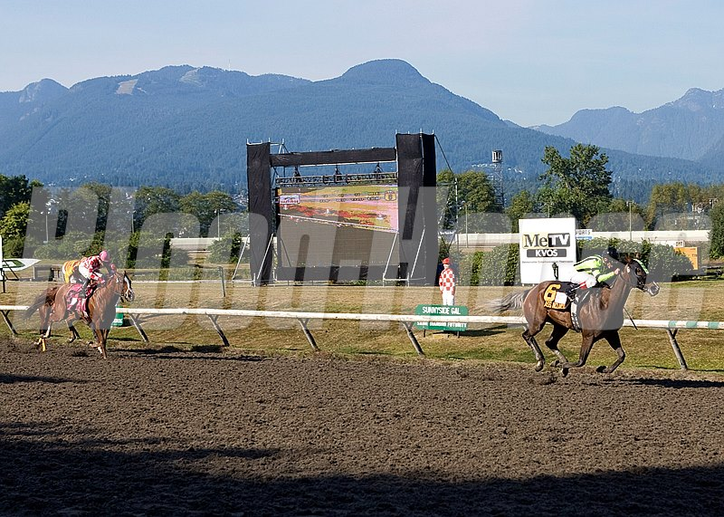 Class Included winning the British Columbia Oaks at Hastings Racecourse, Vancouver, BC, CAN on September 11, 2011.