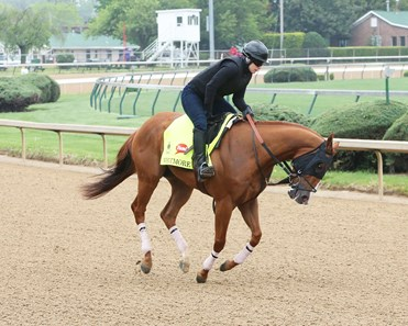 Whitmore trains at Churchill Downs April 23, 2016