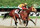 Peeping Tom wins 2001 Carter Handicap