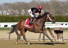 Paulassilverlining Pulls Clear in Distaff Handicap