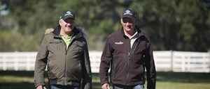 Get to know Kevin and J.B. McKathan, their farm manager Chris Alexander and the 200-acre McKathan Brothers Training Center in Citra, Fla. Sponsored by Fasig-Tipton.  Learn more at www.AmericasBestRacing.net
