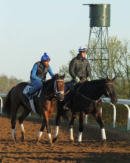 Rachel's Valentina - Morning Training - Keeneland - 041616