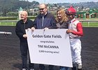 McCanna Wins No. 2,000 at Golden Gate