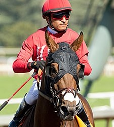 Guns Loaded wins the 2016 San Simeon Stakes.