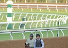 Nyquist Update: Jogs at Keeneland