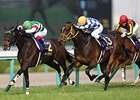 Jeweler Gets Nod in Dazzling Oka Sho Finish