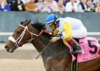 Forever Unbridled won the Apple Blossom in April