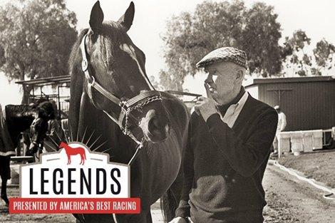 Legends Charlie Whittingham The Bald Eagle Bloodhorse