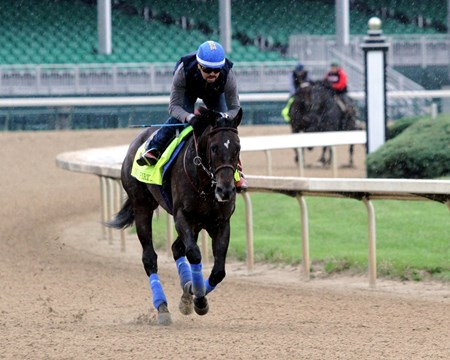 Mor Spirit at Churchill Downs on April 30, 2016.