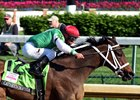 Cathryn Sophia winning the Kentucky Oaks