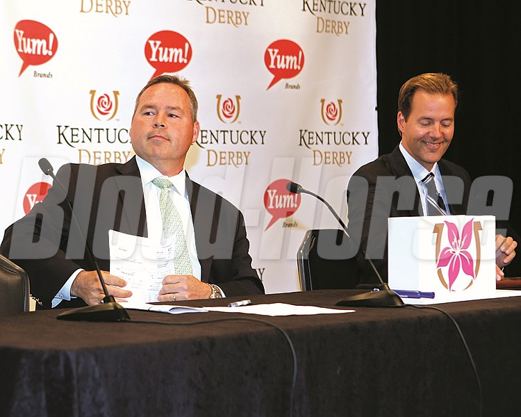 Kentucky Oaks Draw - CD - 050316 - 001