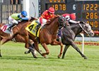 Surgical Strike (outside) wins Arlington Classic May 28