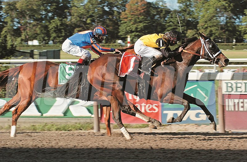 Lear's Princess defeats Rags to Riches at Belmont Park