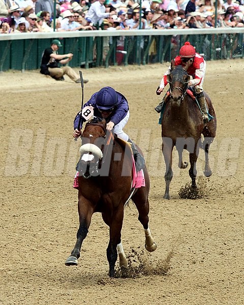 Taris with Flavien Prat win the 30th Running of the Humana Distaff (GI) at Churchill Downs on May 7, 2016.