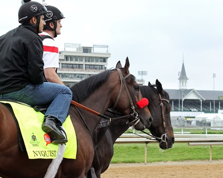 Nyquist - Churchill Downs, May 3, 2016