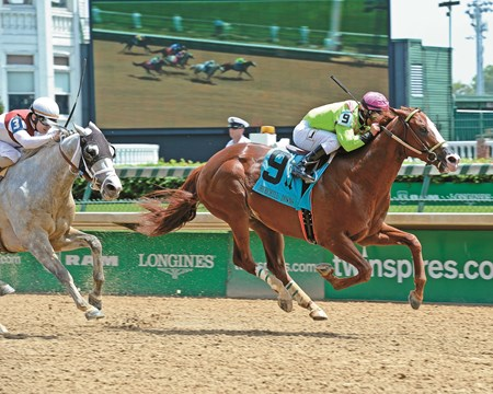 Catalina Red with Javier Castellano won the Churchill Downs (gr. II) Kentucky Derby day at Churchill Downs on May 7, 2016, in Louisville, Ky.