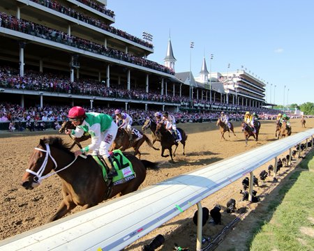 Cathryn Sophia wins 2016 Kentucky Oaks