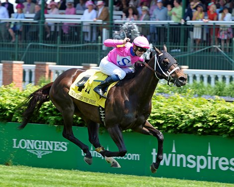 Rocket Heat Fires To Turf Sprint Victory Bloodhorse