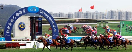 Designs On Rome wins the Citi Hong Kong Gold Cup