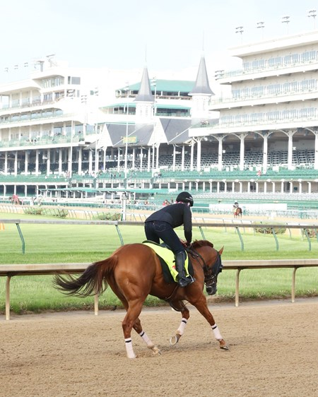 Whitmore - Churchill Downs, May 2, 2016.