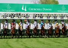 Start of the 2011 Woodford Reserve Turf Classic at Churchill Downs.