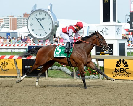 Go Maggie Go with Luis Saez wins the Black-Eyed Susan Stakes (gr. II)