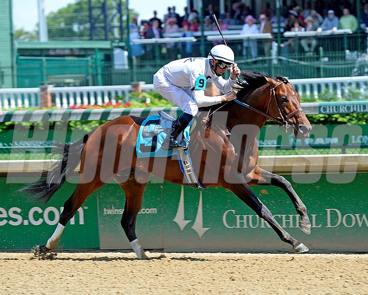 Majestic Harbor with Corey Lanerie wins the Alysheba (gr. II).