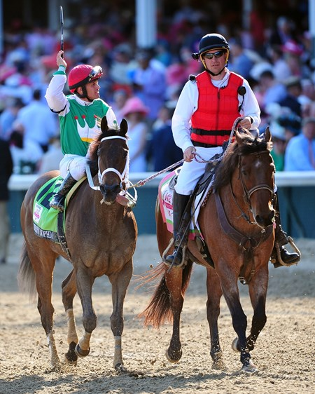 (May 6, 2016) Cash Is Kings Stables Cathryn Sophia, Javier Castellano up, wins the 142nd Running of the Gr.1 Kentucky Oaks at Churchill Downs.