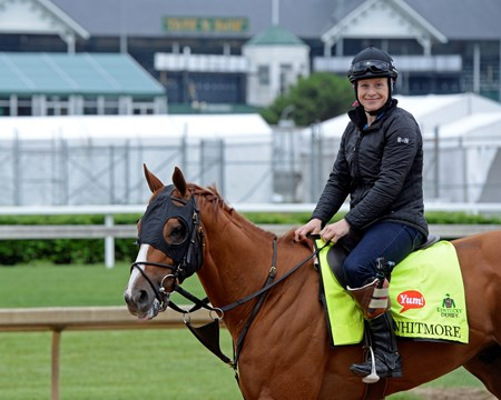 Whitmore at Churchill Downs on May 3, 2016, in Louisville, Ky.