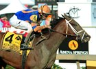 Lost Raven wins the Adena Springs Miss Preakness Stakes