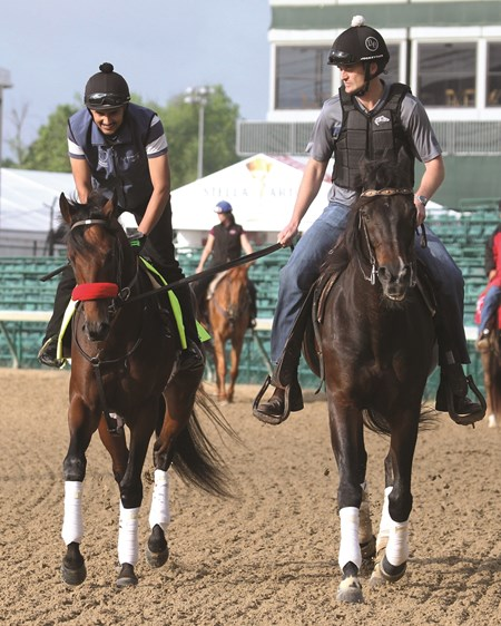 Nyquist - Churchill Downs, May 2, 2016