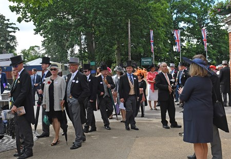 Ascot Entrance at Royal Ascot June 14, 2016.