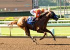 Lord Nelson wins an allowance race June 3 at Santa Anita Park