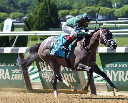 Bode's Dream wins the Astoria Stakes and Belmont Park June 9, 2016