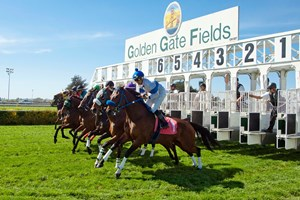 Golden Gate Fields, where racing was halted for two months in the winter following a COVID-19 outbreak