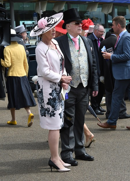 Fashion at Royal Ascot June 15, 2016.
