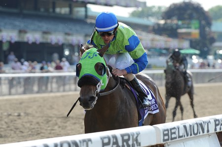 Redeemed wins the Brooklyn Handicap