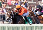 Sarah Sis leads the way to victory in the Chicago Handicap