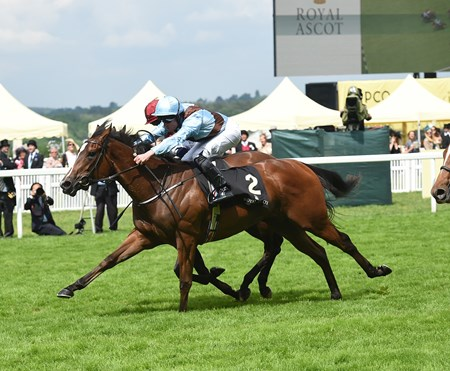 Brave Anna wins the 2016 Albany Stakes at Royal Ascot on June 17, 2016.
