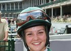 Katie Clawson won her first race June 17 at Churchill