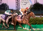 Pleuven gets the victory in the Wise Dan Stakes