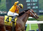 Cavorting Kicks Clear in Ogden Phipps