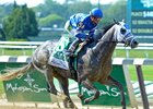 Frosted with Joel Rosario wins the 2016 Met Mile (gr. I)