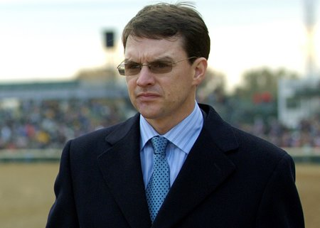 Irish champion trainer Aidan O'Brien