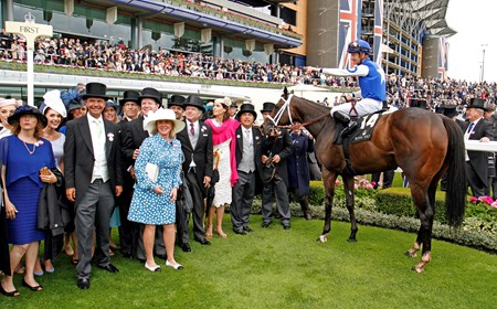 at Royal Ascot June 14, 2016.